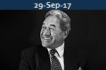 <b>WINSTON PETERS<br>Reignites Debate On Moving Port of Auckaland</b>