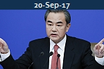 <b>WANG YI<br>China, Ukraine  Strengthen Cooperation Under Belt and Road Initiative</b>