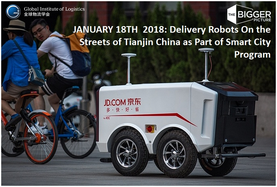 <b> JD.COM TRIALL<br>DELIVERY BOTS</b>