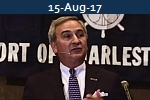 <b>JIM NEWSOME<br>SC Ports 2017 Container Volume Up 13 percent</b>
