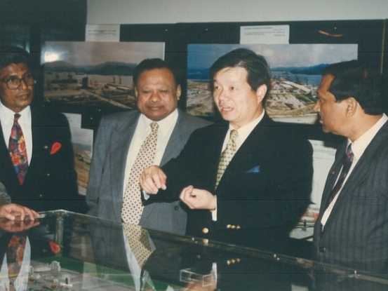 <b>VIP visitors from Bangladesh</b>
