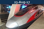 <b> CHINESE FUXING<br>3.5 Hours Beijing To Shanghai at 350 KMH</b>
