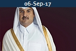 <b> SHEIKH AL-THANI <br>Inaugurates Qatar's New Port</b>