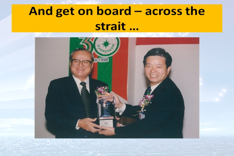 Joint Chairman of Evergreen Shipping Group