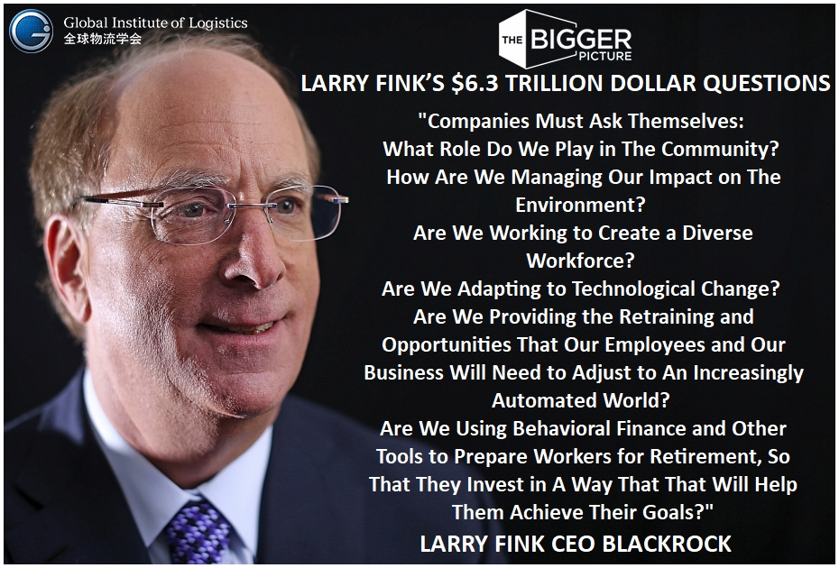 <b>LARRY FINKS<br>$6 TRILLION DOLLAR QUESTION</b>