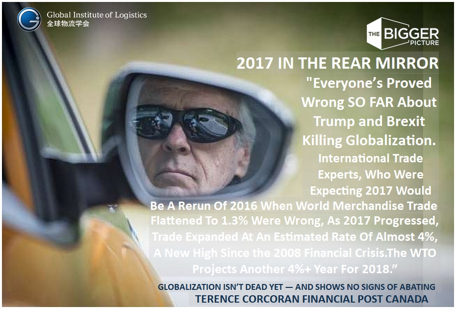 <b>TERENCE CORCORAN<br>2017 IN THE REAR VIEW</B>