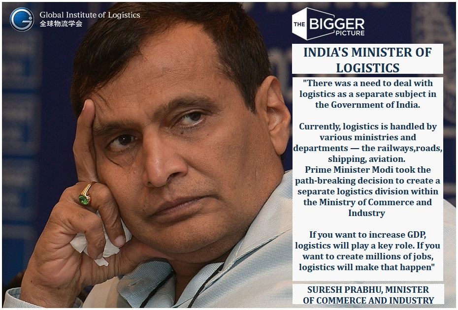 <b>INDIAS MINISTER FOR LOGISTICS</B>