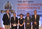 <B>INSTITUTE LEADS PORT collaboration panel<br> at IAPH 2017</b>