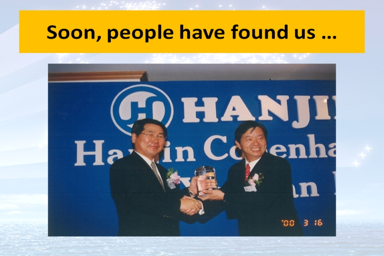 Hanjin's inaugural call at Yantian