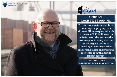<b>GERMAN LOGISTICS BOOMING</B>