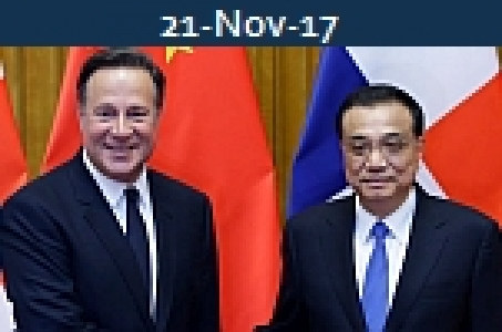 <b>JUAN CARLOS VARELA<br>Signs 19 Deals In China Including Feasibility Study On FTA</b>