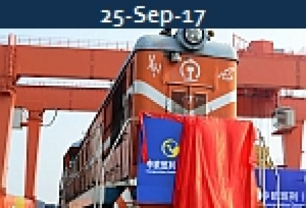<b>CHINA EU RAIL<br>Building Traction, Volume  & Schedule Reliability</b>