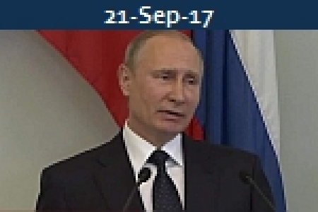 <b>VLADIMIR PUTIN<br>Orders End To Trade In US Dollars At Russian Ports</b>