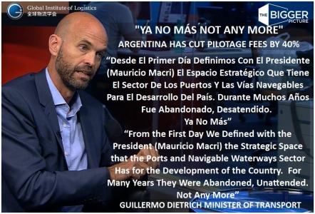 <b>ARGENTINA SAYS 'YA NO MÁS'<br>TO POOR LOGISTICS</b>