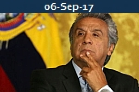 <b>LENIN MORENO<br>President Ecuador Agrees Terms With DP World</b>