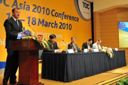 Dr. Fu at TOC Asia 2010