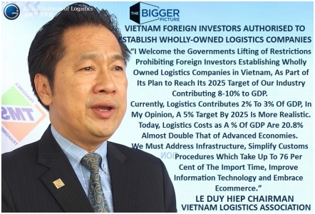 <b>LE DUY HIEP<br>VIETNAM GOES LOGISTIC</b>