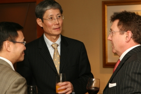 Dr Fu at GIL Launch in Hong Kong