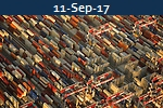 <b>THROUGHPUT UP 6.8%<br>Globally Shanghai International Shipping Institute</b>